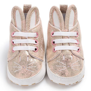 Soft Cute Bunny Ear Sneakers Australia Baby Shop Shoes PBear Warehouse for Australia Baby Goods Online.