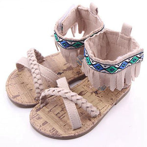 Beige Euro Flat Sandals Australia Baby Shop Sandals PBear Warehouse for Australia Baby Goods Online.