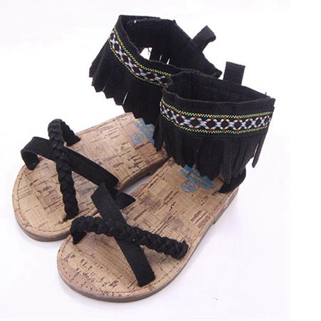 Black Euro Flat Sandals Australia Baby Shop Sandals PBear Warehouse for Australia Baby Goods Online.