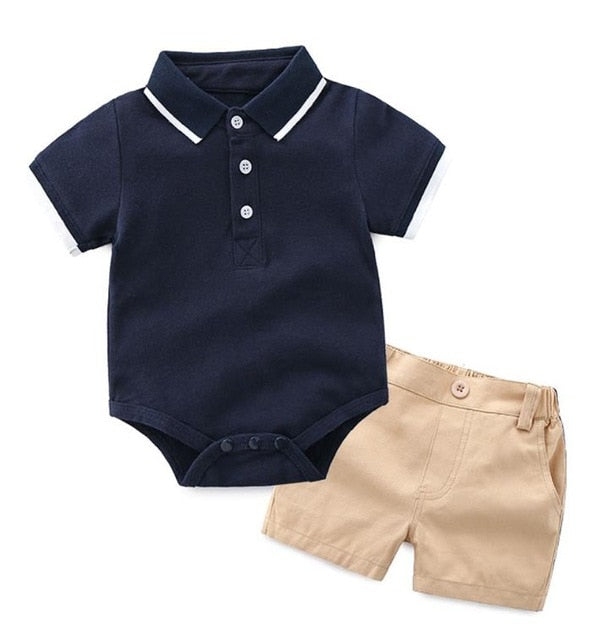 Navy Cargo Boy Set