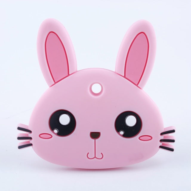 Silicone Bunny Teether Australia Baby Shop Teething PBear Warehouse for Australia Baby Goods Online.
