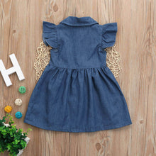 Jeans Ruffle Dress