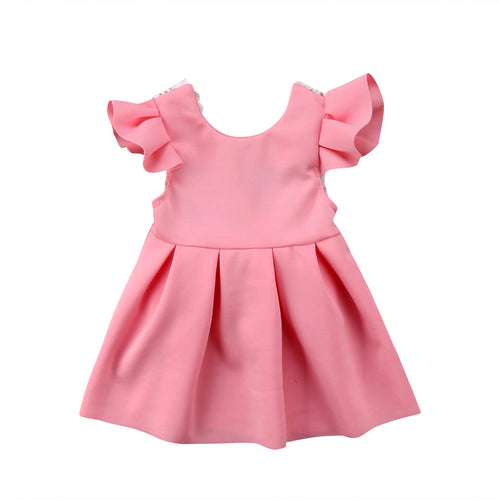 Pink Ruffle Lace Sun Dress Australia Baby Shop Dress PBear Warehouse for Australia Baby Goods Online.