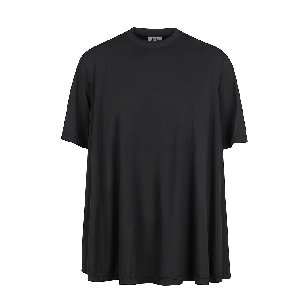 Two-toned T-Shirt - Black -  UPF50+, Sun protective clothing, Idlebird