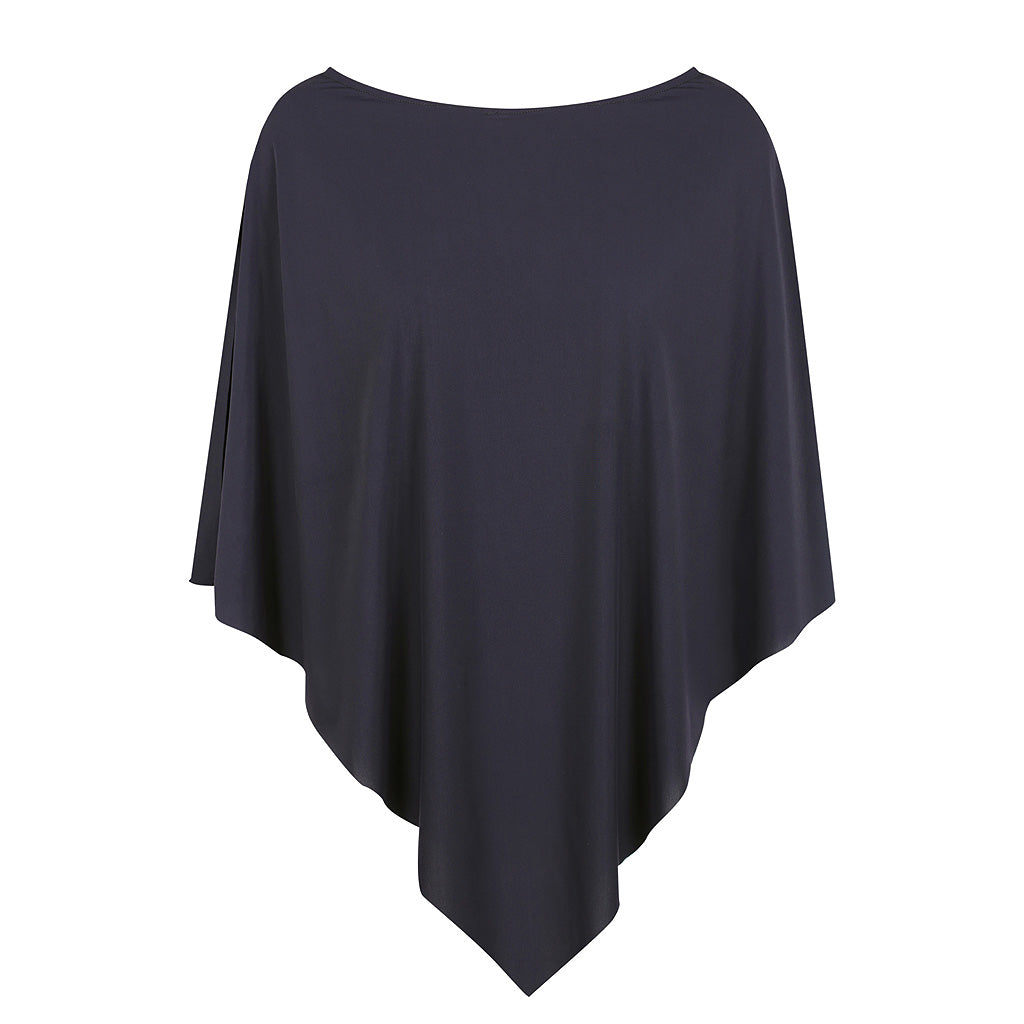 Diamond Cape - UPF50+Navy