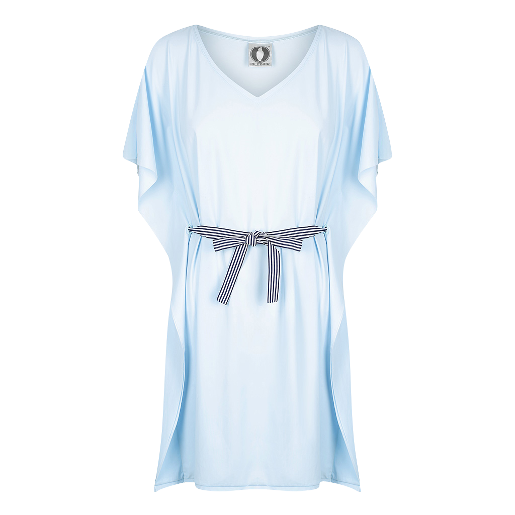 All Tied Up Tunic - UPF50+ Blue, Sun protective clothing, Idlebird