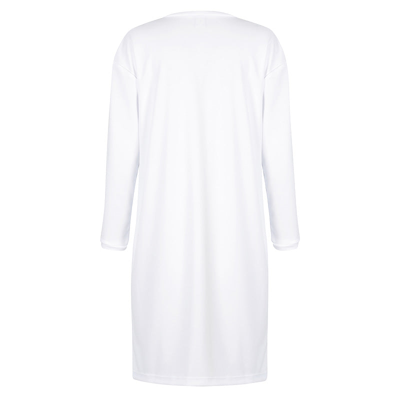 Sports Dress - White UPF50+, Sun protective clothing, Idlebird