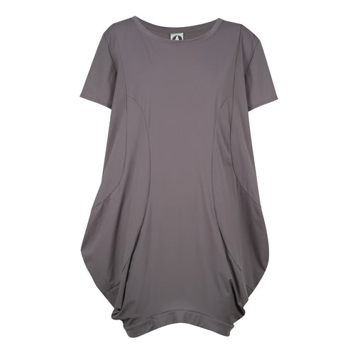 Movin' On Up Dress - Grey UPF50+, Sun protective clothing, Idlebird