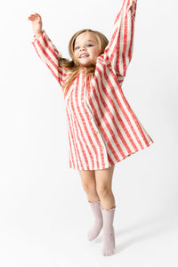 SUPER SOFT STRIPED NIGHTGOWN