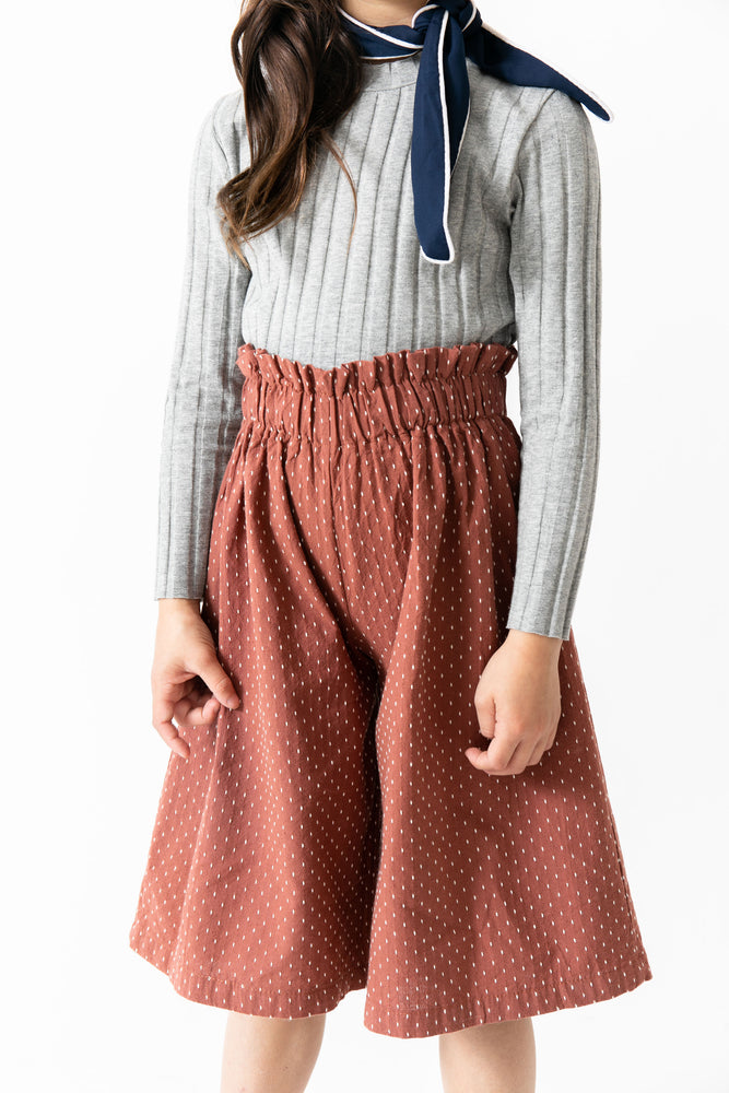 RUST SWISS DOT CULOTTES