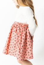 CORDUROY CHERRY SKIRT