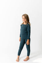 SOLID DARK TEAL PAJAMAS