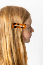 COPPER TORTOISE SHELL HAIR CLIP