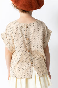 SWISS DOT BLOUSE