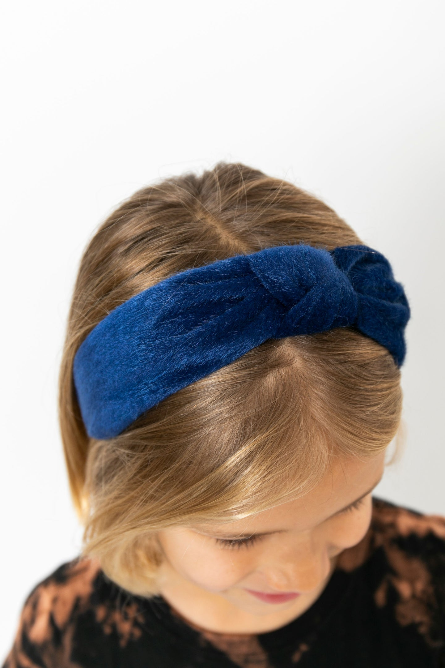 BLUE KNOT HEADBAND
