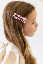 PINK TORTOISE SHELL HAIR CLIP