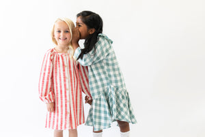 SUPER SOFT RUFFLE NIGHTGOWN DRESS