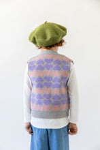 HEART SWEATER VEST