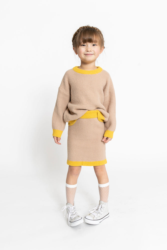 KNIT SWEATER SET