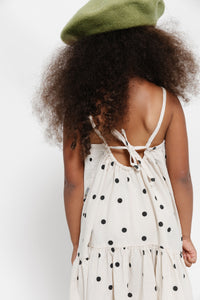 POLKA DOT TANK DRESS