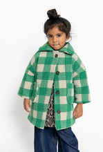 GREEN PLAID COAT