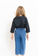 BOX PLEAT JEANS