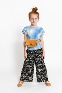 WIDE LEG CHEETAH PANTS