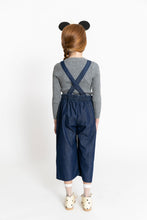 DARK DENIM MOUSE OVERALLS