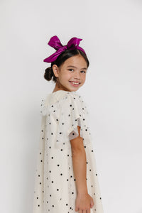 TULLE POLKA DOT DRESS