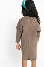 RIBBED SWEATER SET