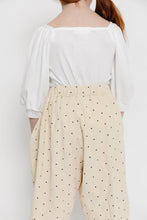 CREAM SWISS DOT CULOTTES
