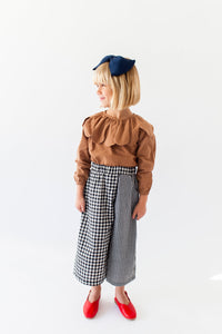 GINGHAM CULOTTES