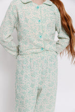MINT FLORAL PAJAMA SET