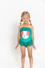 GREEN DOGGY SWIMSUIT