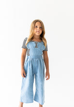 LIGHT DENIM MOUSE OVERALLS