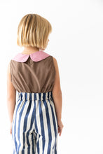 SLEEVELESS PETAL BLOUSE