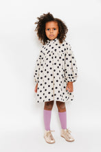 POLKA DOT BACK TIE DRESS