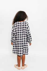 SIDE GATHER DRESS