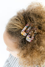 RAINBOW TORTOISE SHELL HAIR CLIP