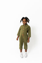 GREEN FAVORITE DAY JUMPSUIT