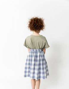 BUFFALO CHECK SKIRT