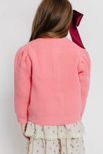PINK CARDIGAN SWEATER