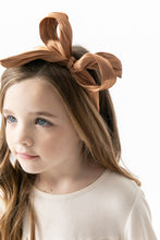 CARAMEL BOW HEADBAND