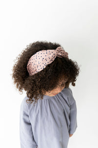 MAUVE TWIST HEADBAND