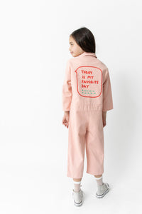 PINK FAVORITE DAY JUMPSUIT
