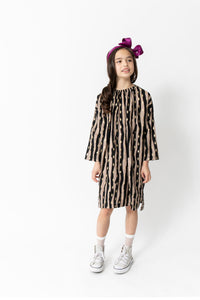 PRINTED SACK DRESS