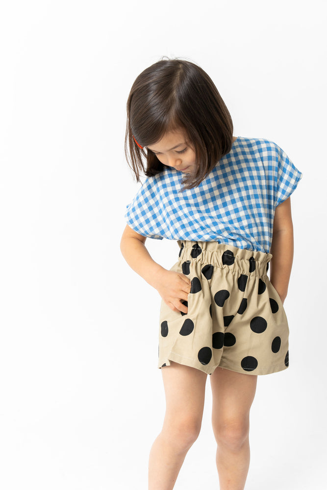 POLKA DOT PAPERBAG SHORTS