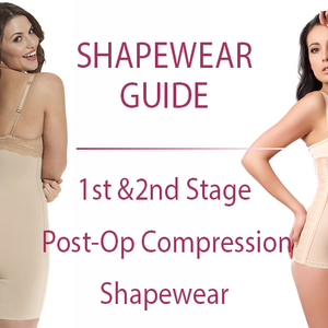 First & Second Stage Post-Operative Compression Shapewear