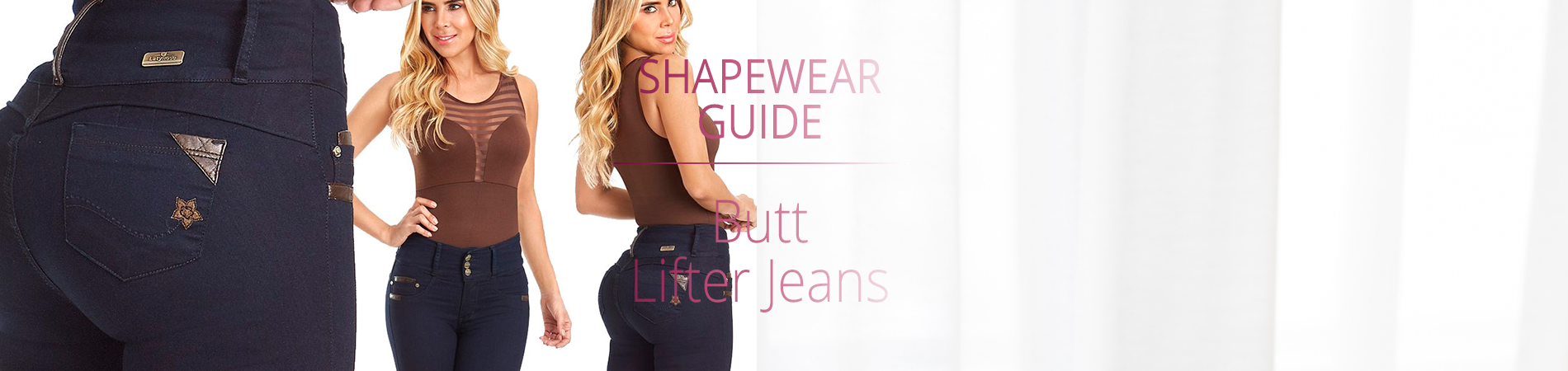 Butt Lifting / Enhancing Jeans