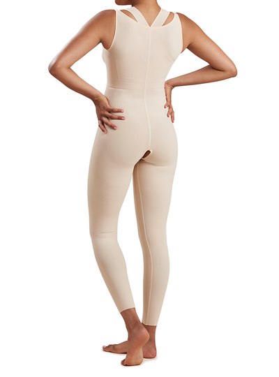 MARENA GIRDLE WITH HIGH BACK- ANKLE LENGTH